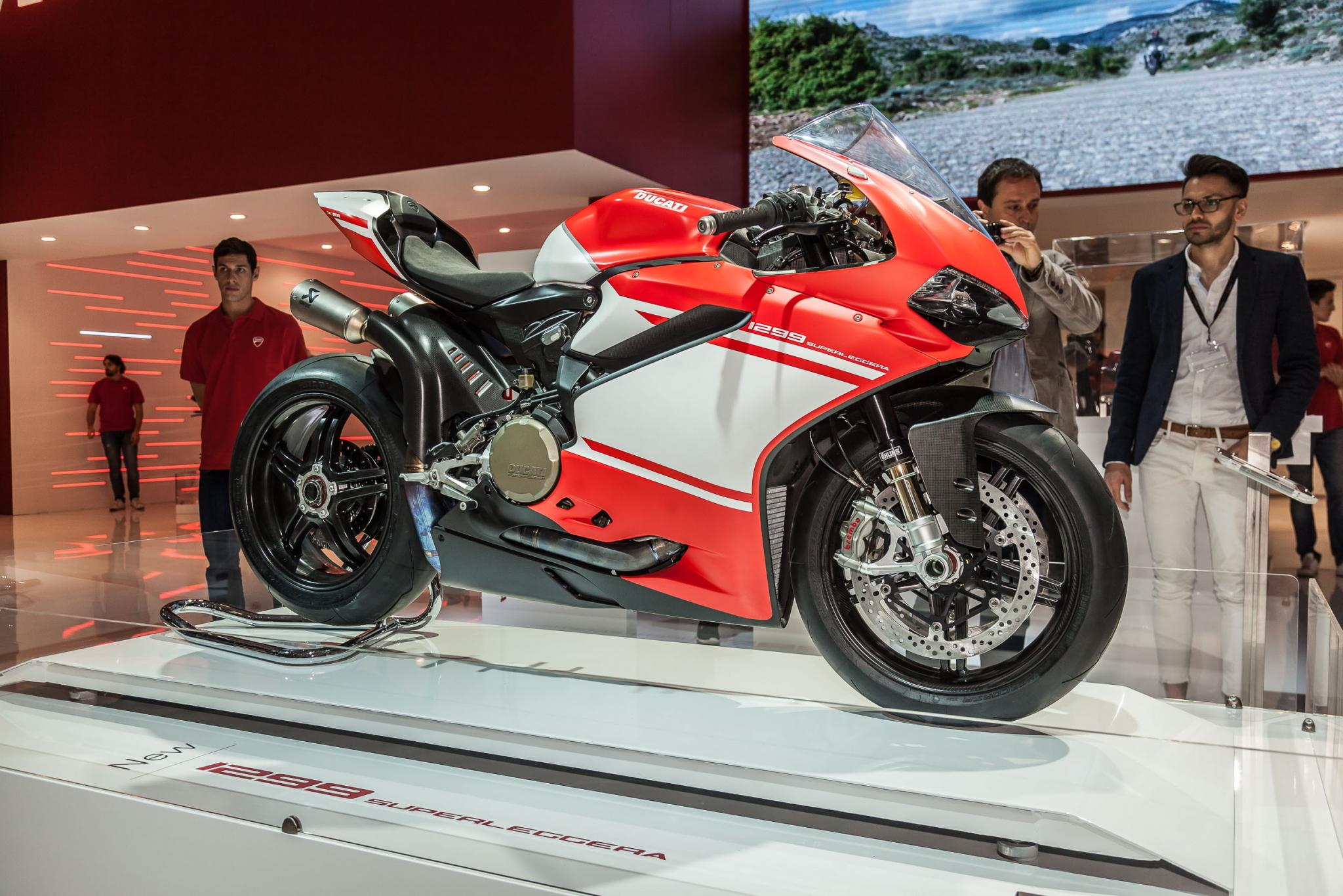 Ducati 1299 Superleggera 2017 - Modellnews