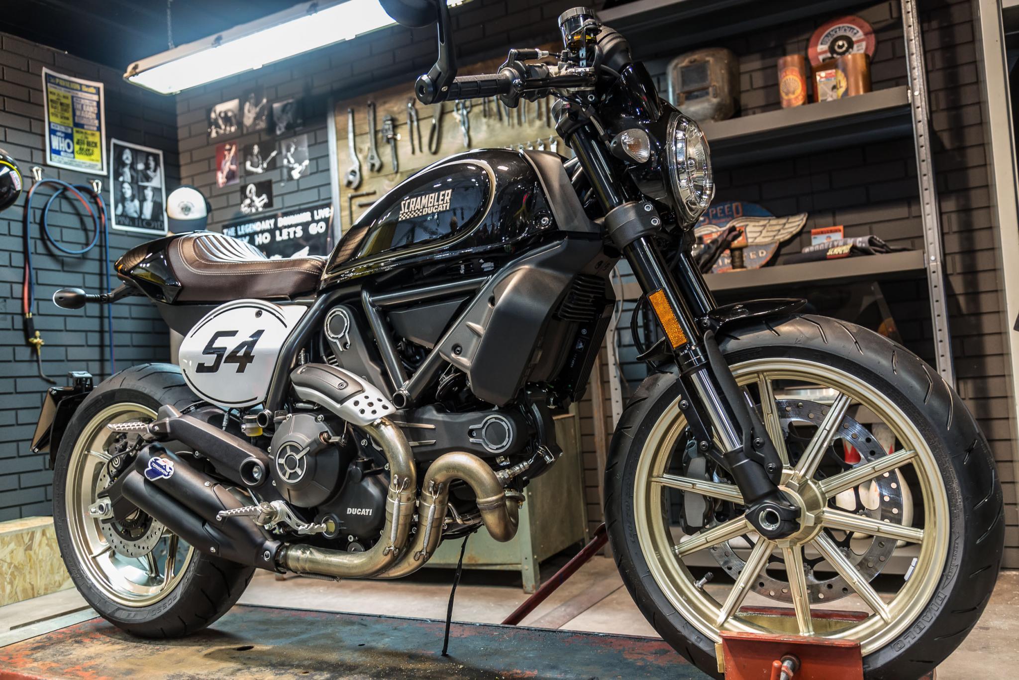 Ducati Scrambler Cafe Racer 2017 Motorrad Fotos & Motorrad