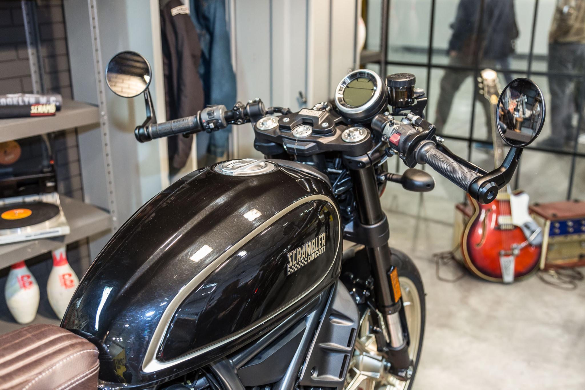 ducati scrambler cafe racer 2017 motorrad fotos motorrad. Black Bedroom Furniture Sets. Home Design Ideas