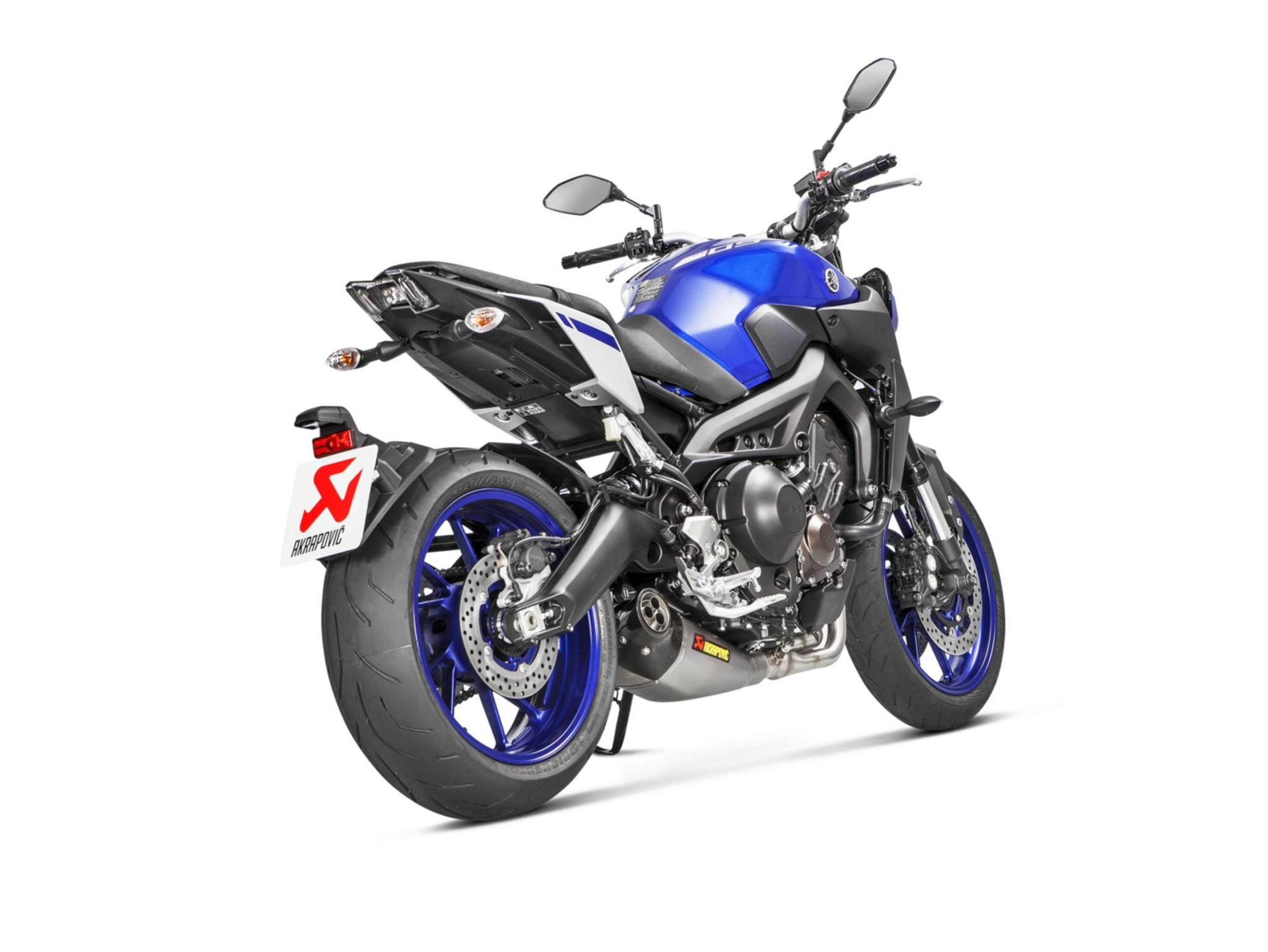 akrapovic f r yamaha mt 09 tracer 900 und xsr900. Black Bedroom Furniture Sets. Home Design Ideas