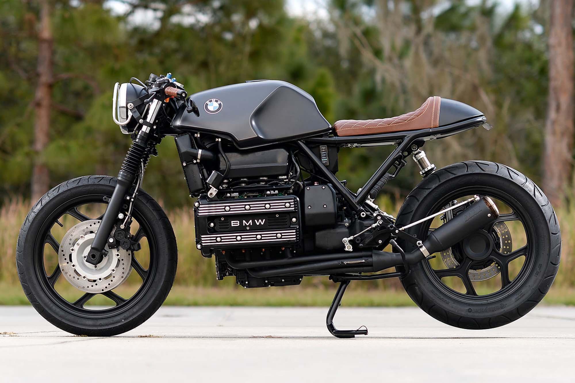 BMW K100RS Cafe Racer Umbau von Hageman Motorcycles Foto