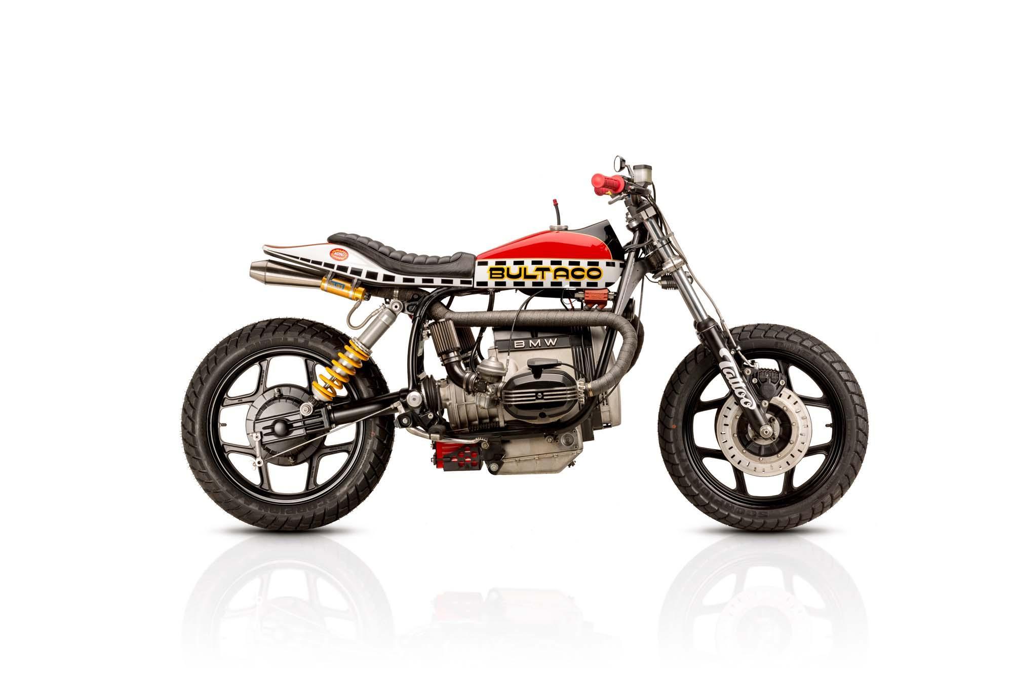 BMW R80RS Tracker Umbau von Tattoo Custom Motorcycles Foto