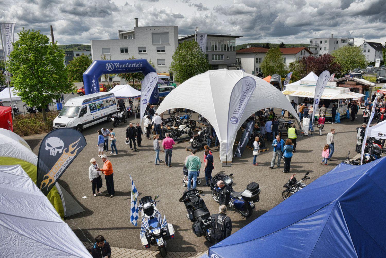Wunderlich-Anfahrt 2017 am 20. und 21. Mai Foto