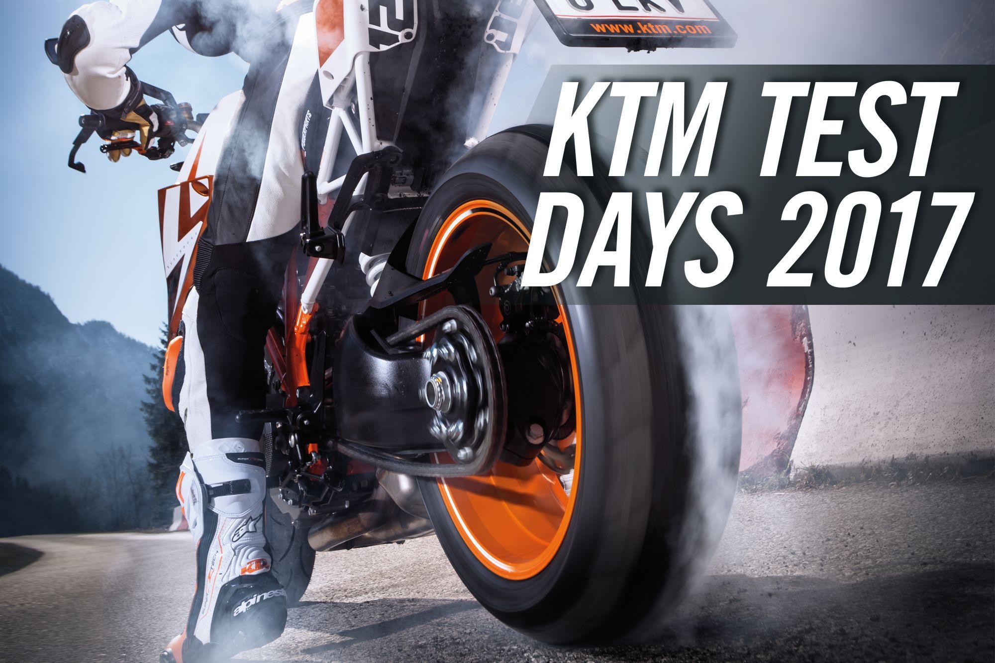 KTM TEST DAYS 2017 – TEST IT, FEEL IT, LOVE IT! Foto