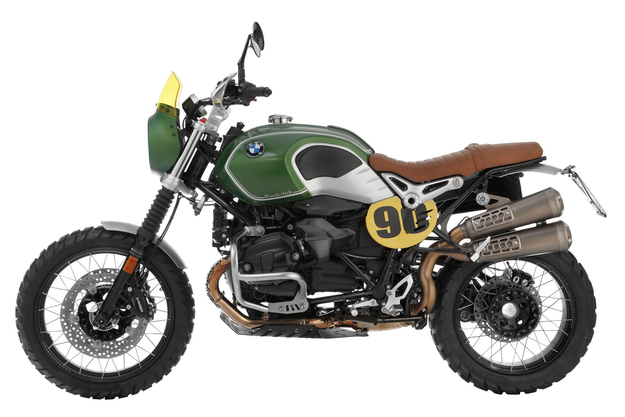 wunderlich bmw r ninet green hell. Black Bedroom Furniture Sets. Home Design Ideas
