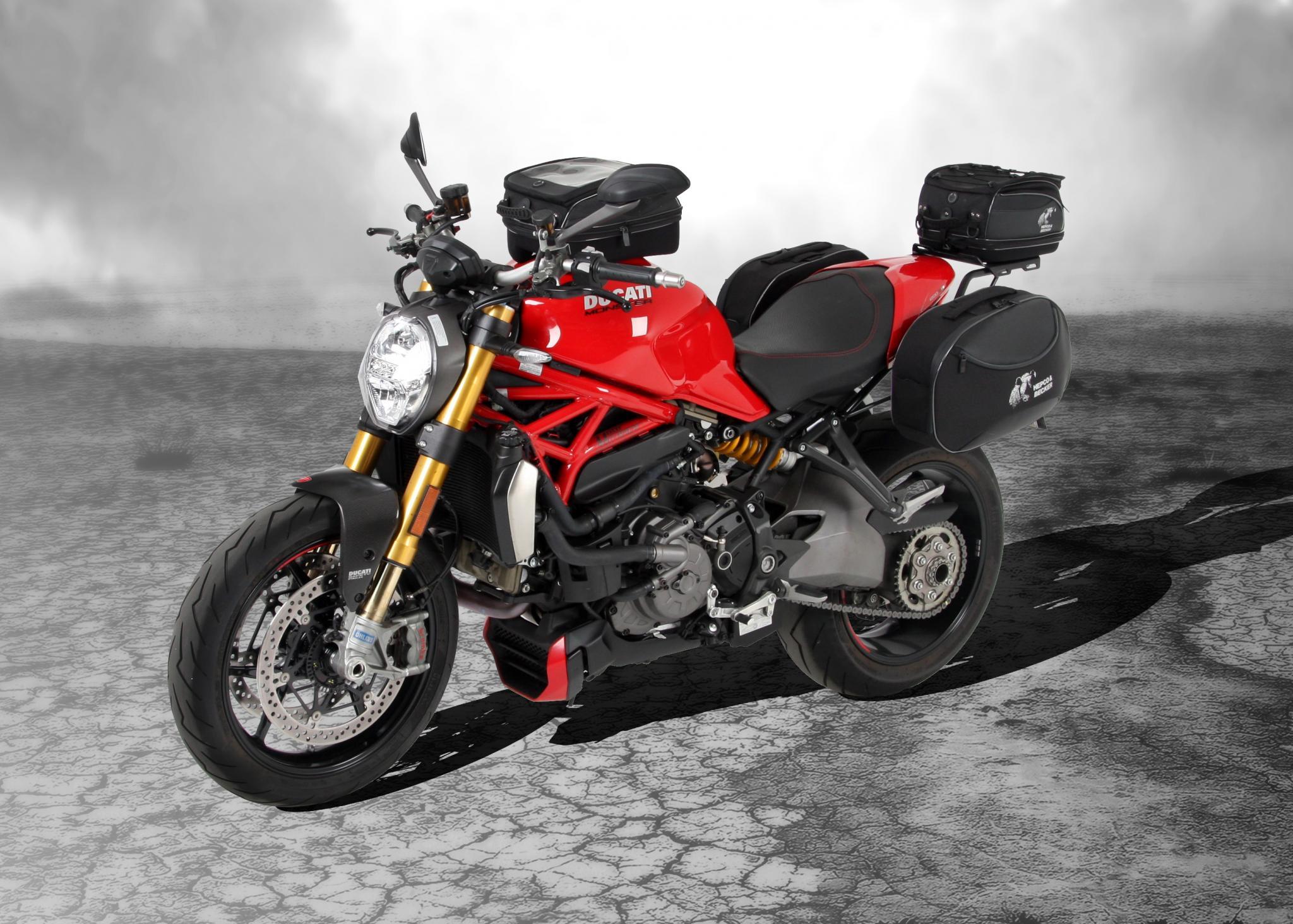 Ducati Monster Koffersystem