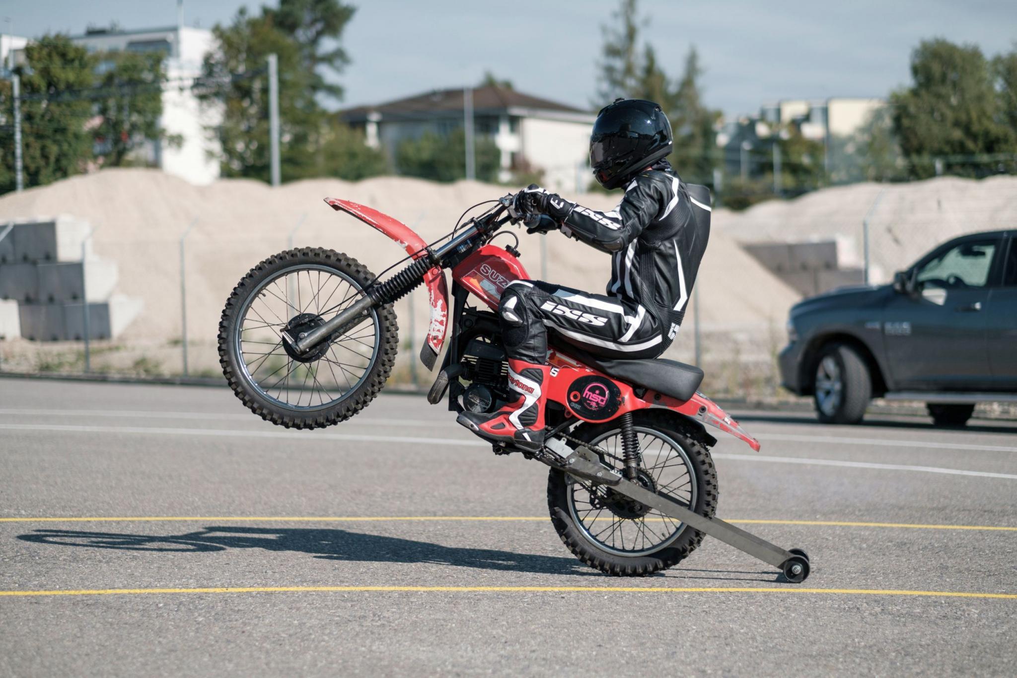 Wheelie-Training bei Fahrschule Mannhard - Event