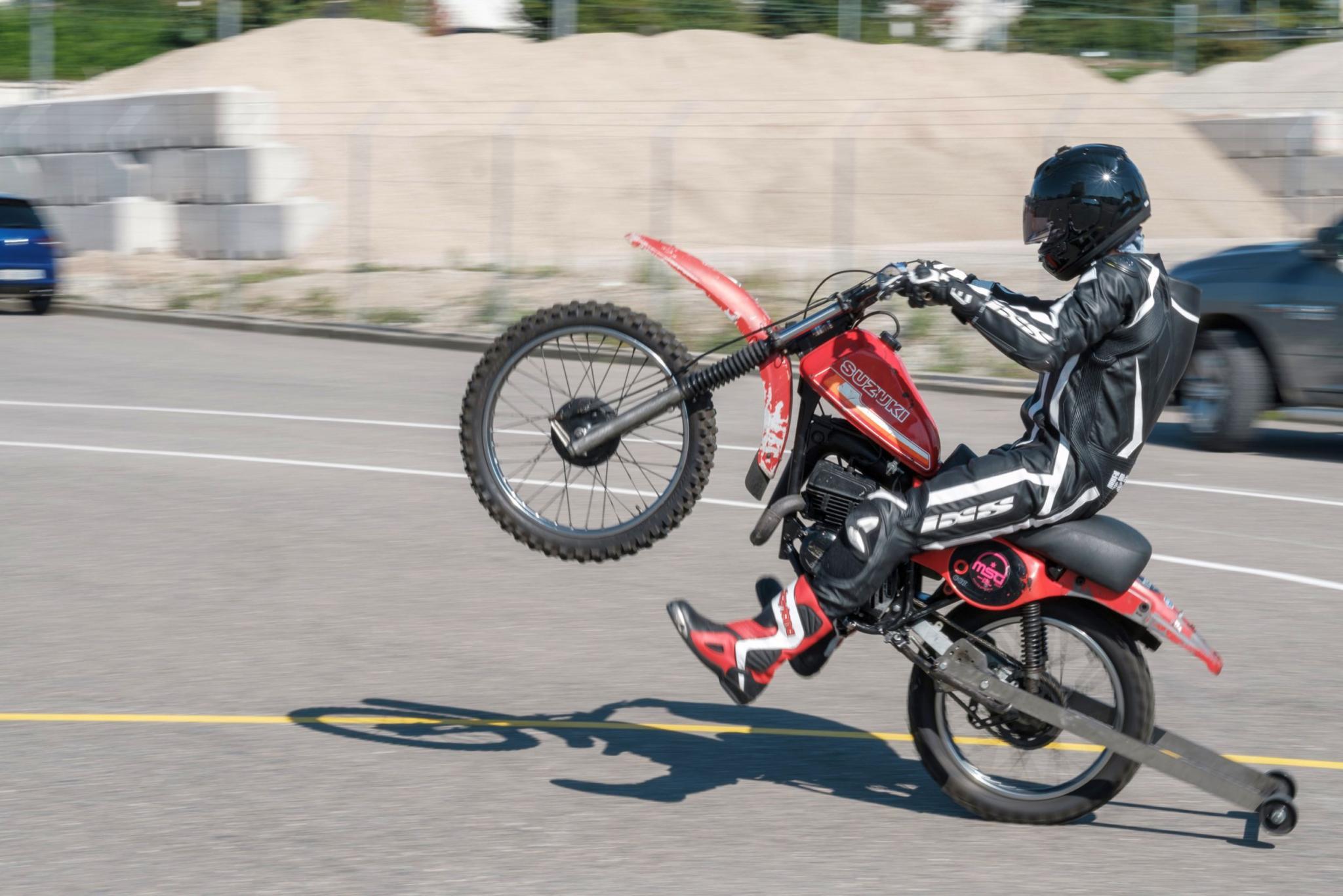 Wheelie Training Bei Fahrschule Mannhard Event