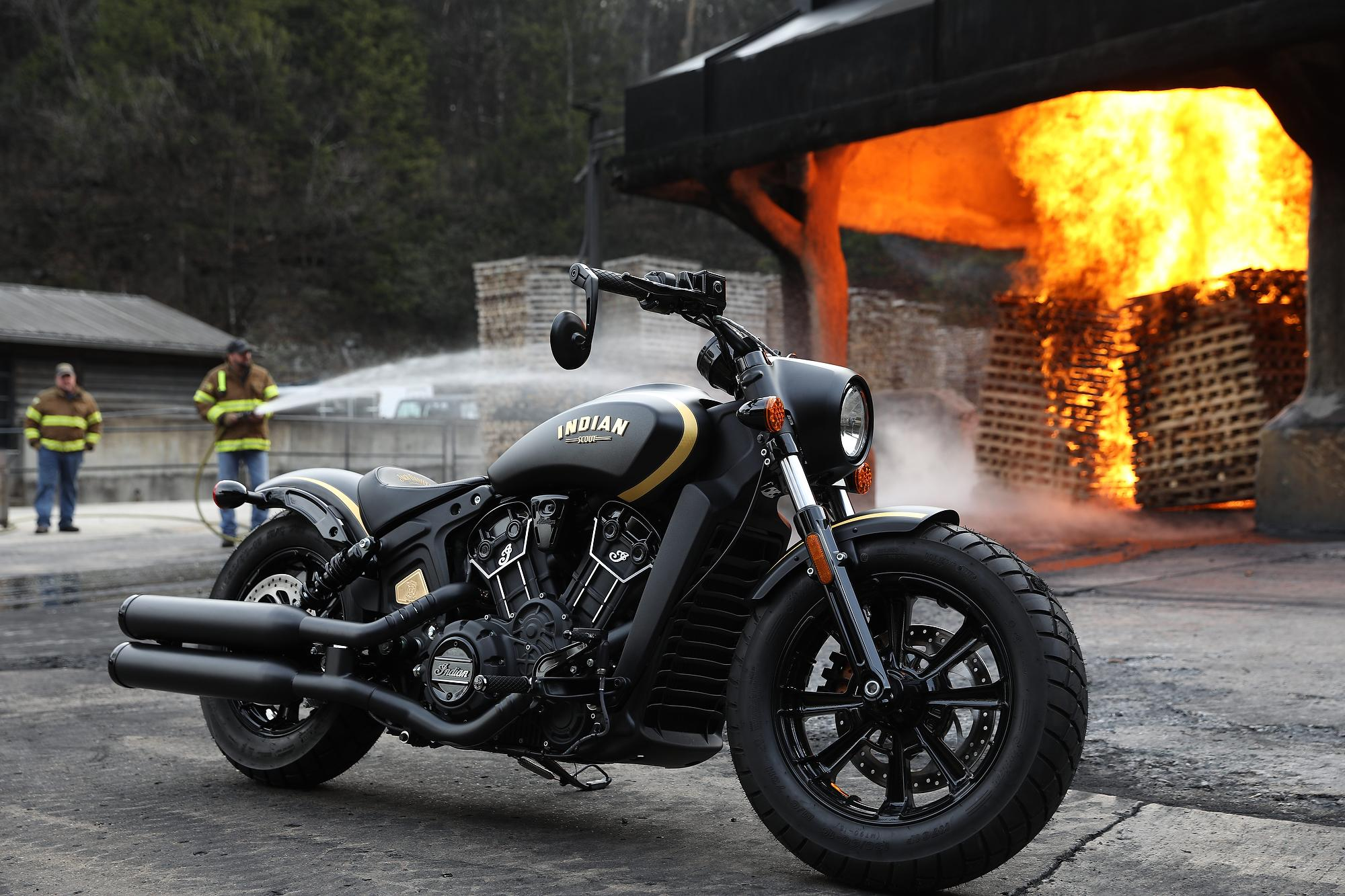 Harley Davidson  Fire Department Limited Edition