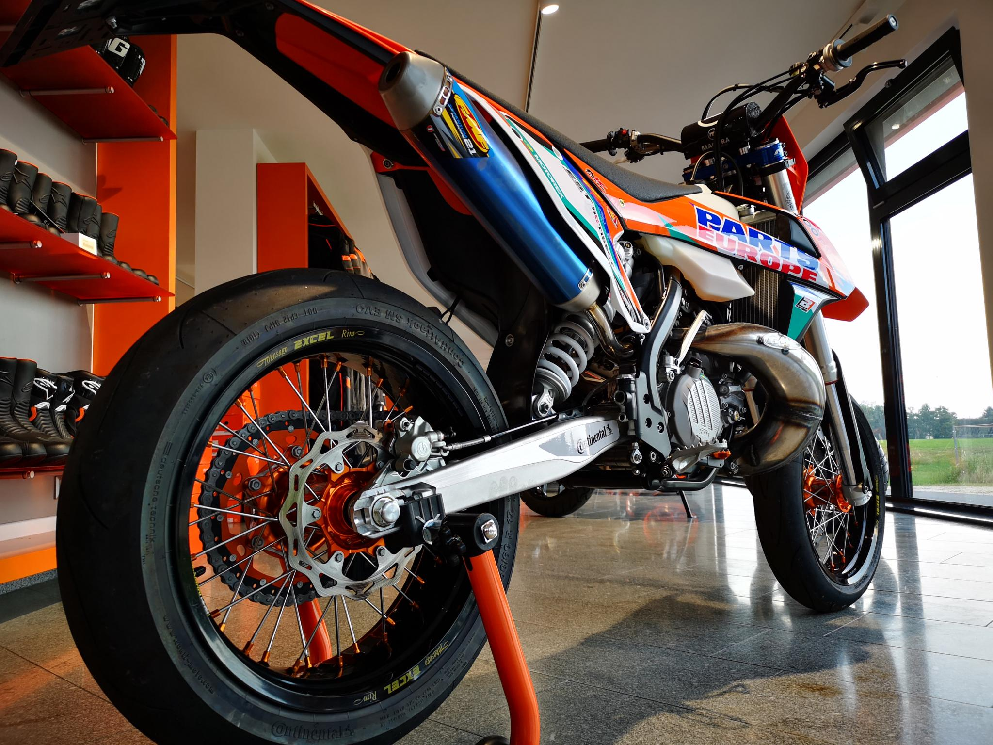 ktm 300 exc 2 takt supermoto umbau 1000ps edition. Black Bedroom Furniture Sets. Home Design Ideas