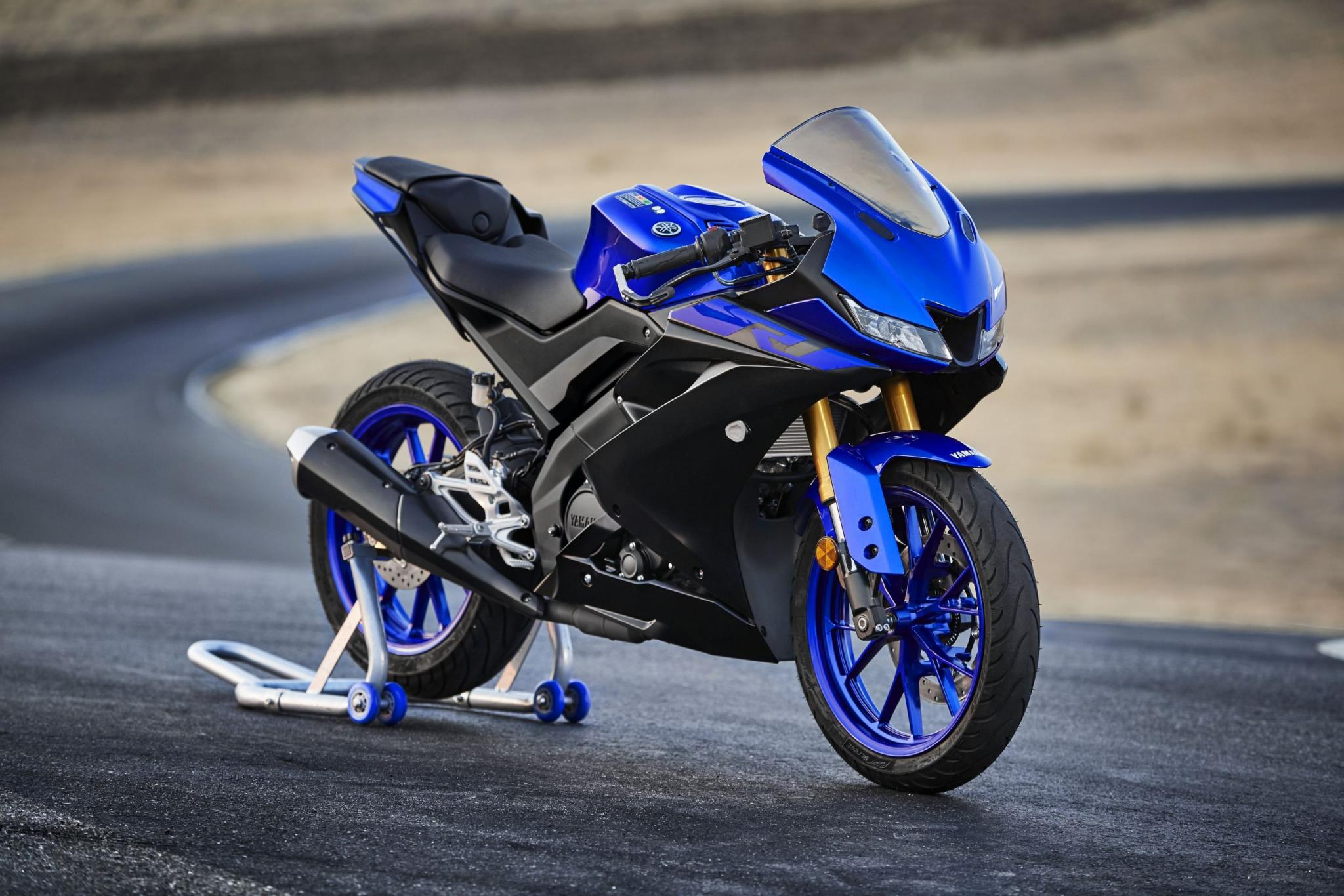Yamaha Yzf R125 2019 Alle Bilder Vom A1 Supersportler Modellnews