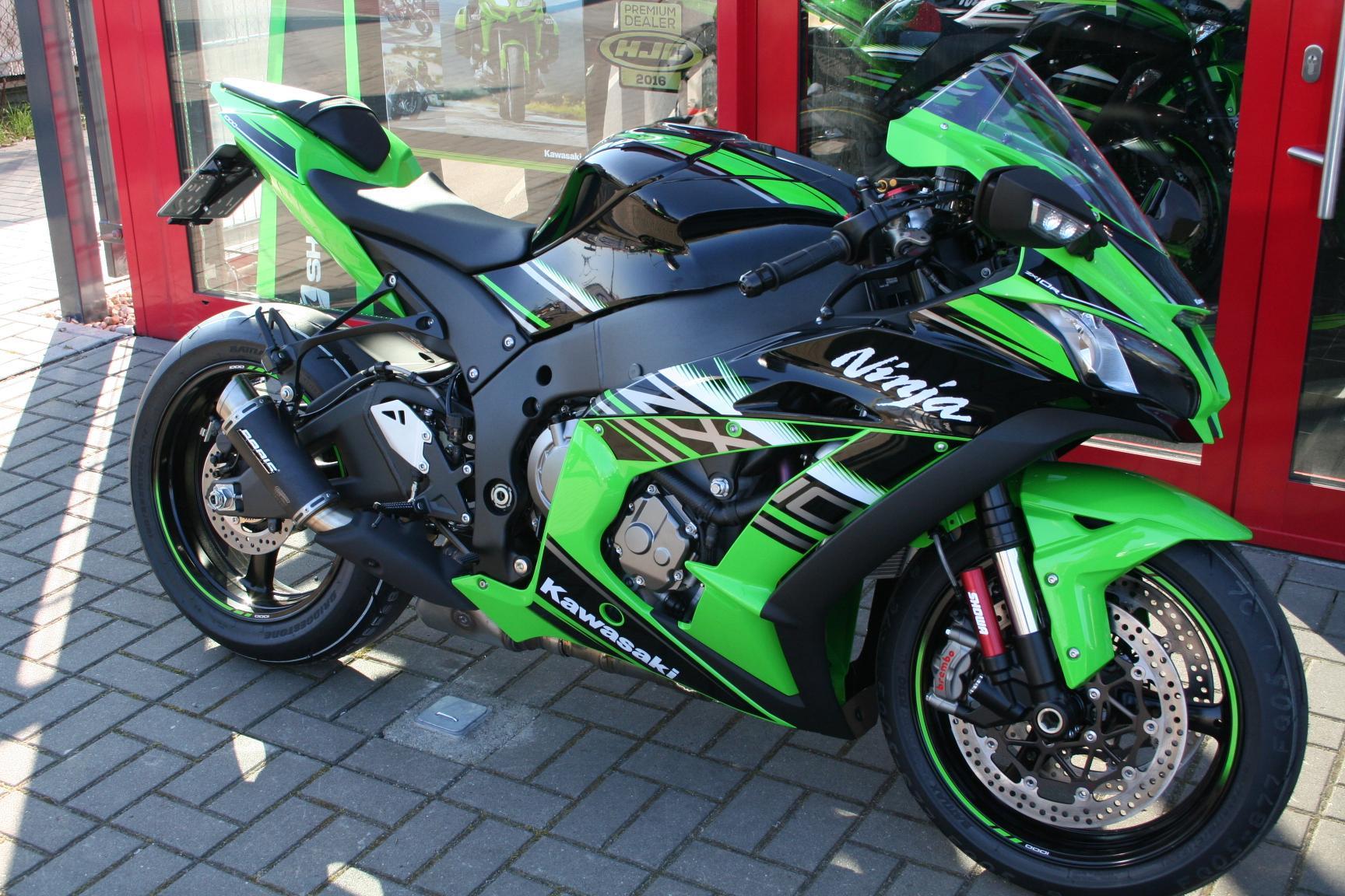 Ninja Editionen & Racingbikes Foto