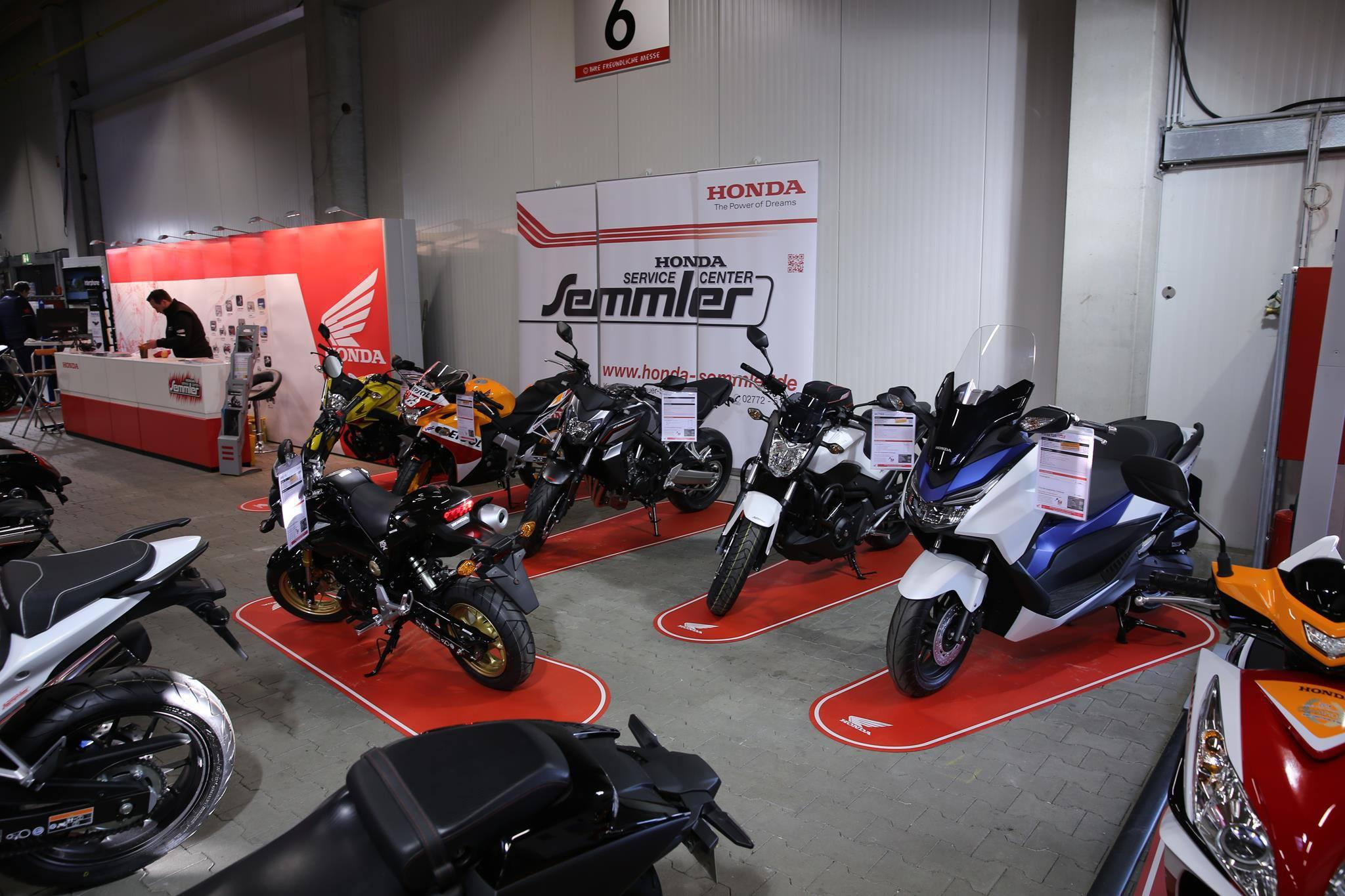 honda semmler messe gie en 1 tag 2015 motorrad fotos. Black Bedroom Furniture Sets. Home Design Ideas