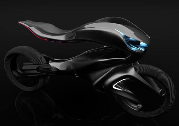 Motorrad design for Mercedes benz motorcycle