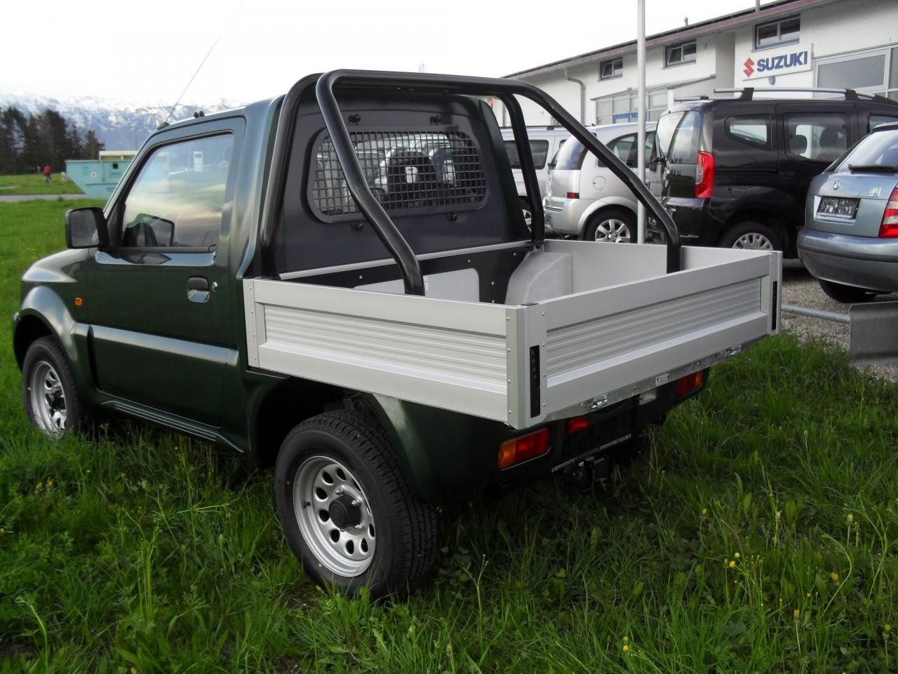 suzuki jimny pick up club motorrad fotos motorrad bilder. Black Bedroom Furniture Sets. Home Design Ideas