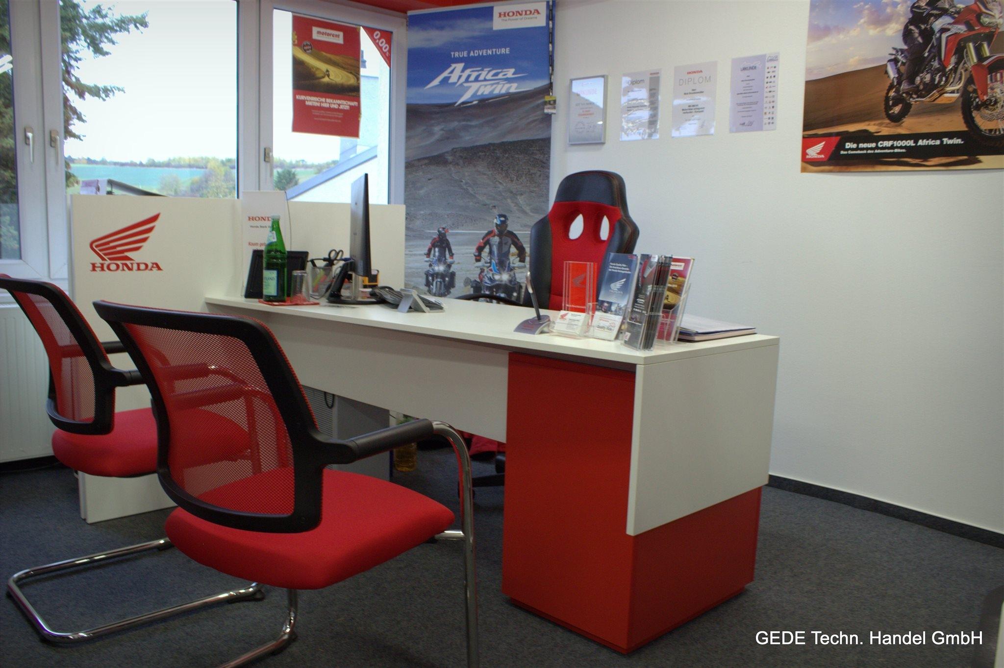 Unternehmensbilder Motorradhaus GEDE Techn.Handel GmbH 16