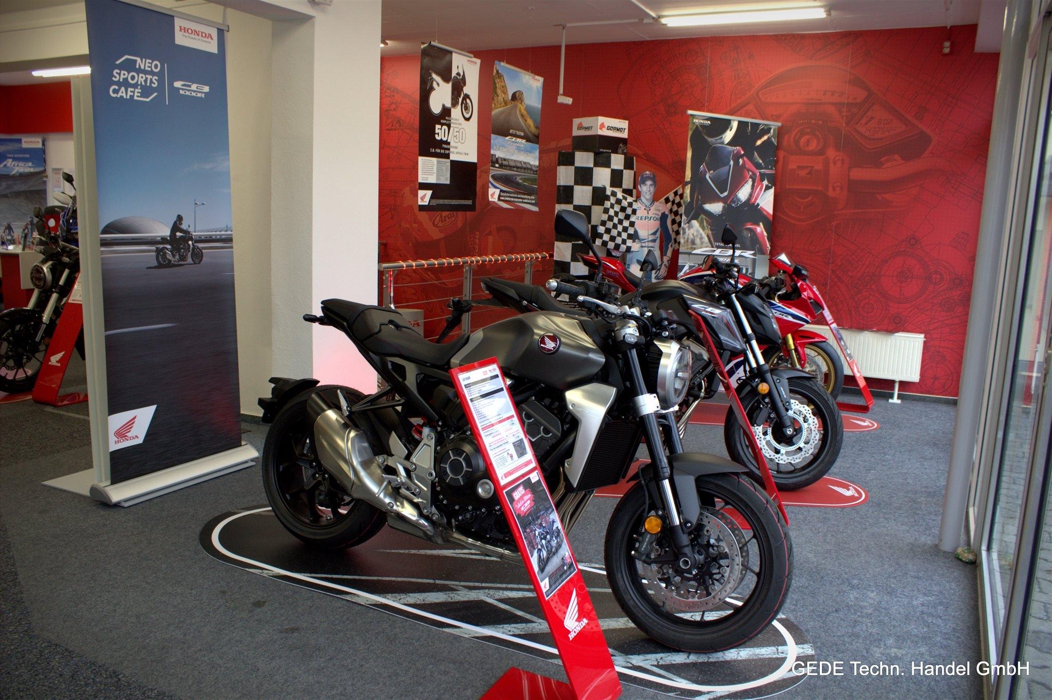 Unternehmensbilder Motorradhaus GEDE Techn.Handel GmbH 11