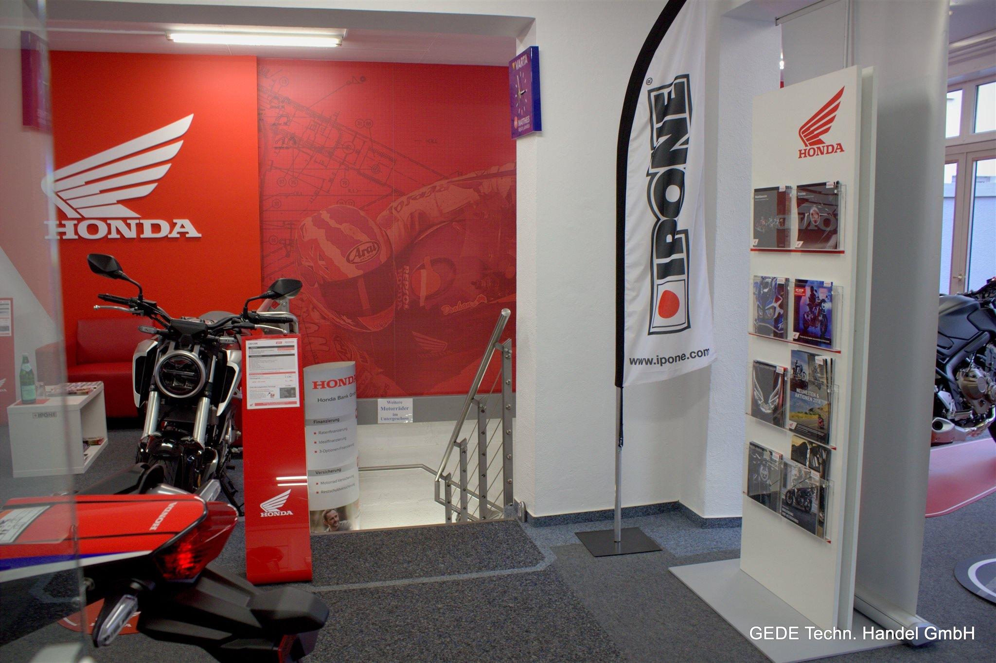 Unternehmensbilder Motorradhaus GEDE Techn.Handel GmbH 13