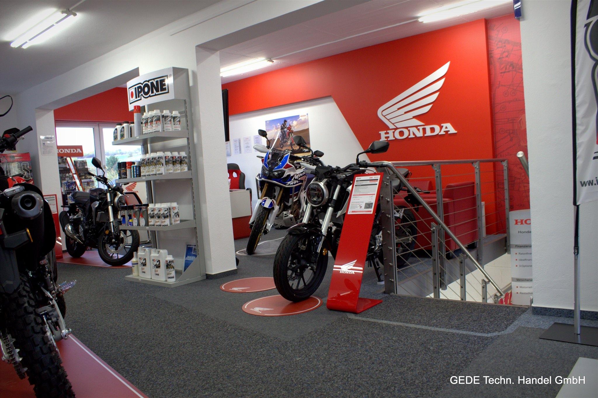 Unternehmensbilder Motorradhaus GEDE Techn.Handel GmbH 14