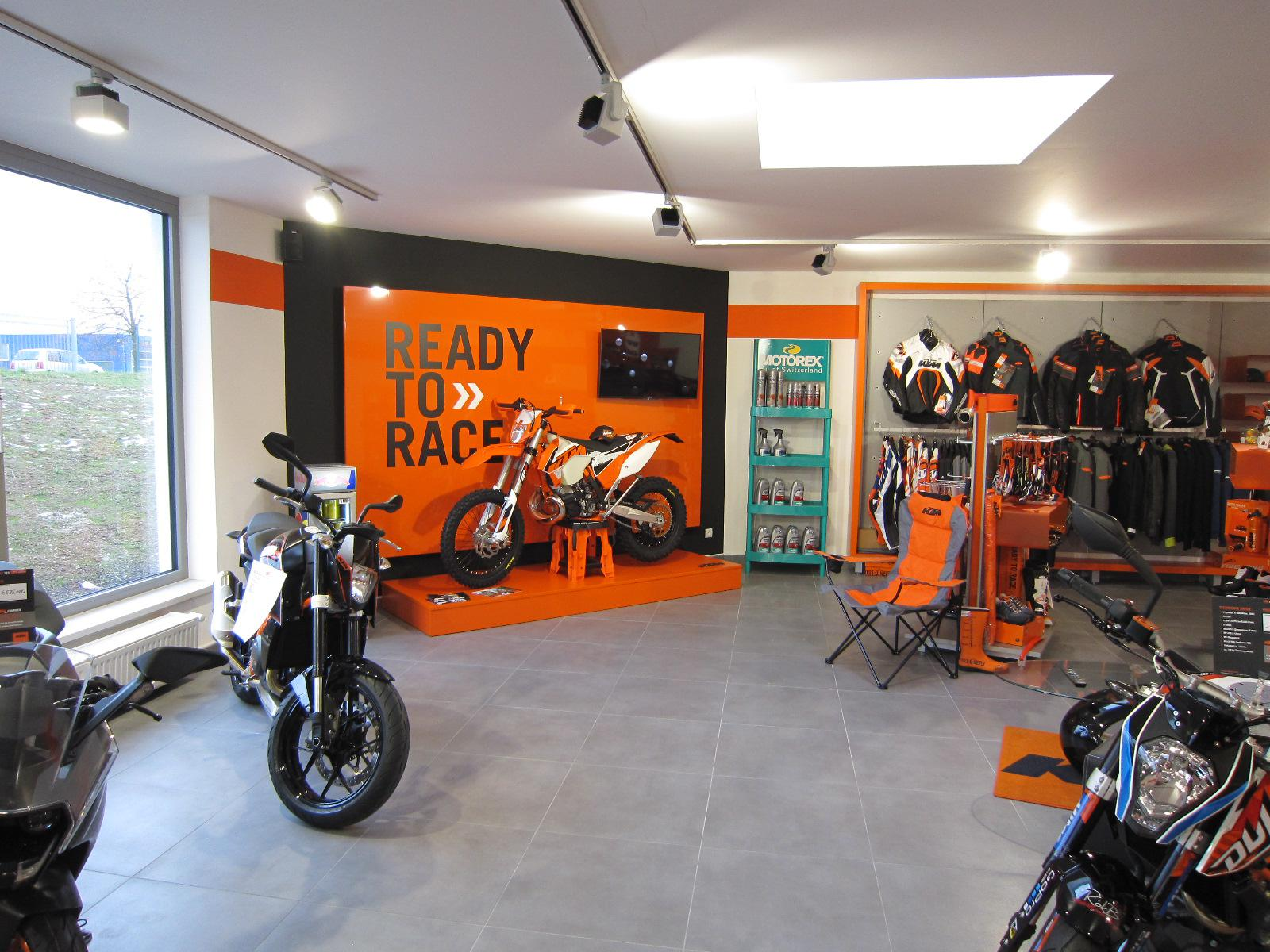 Unternehmensbilder Motorradcenter Keßler 12