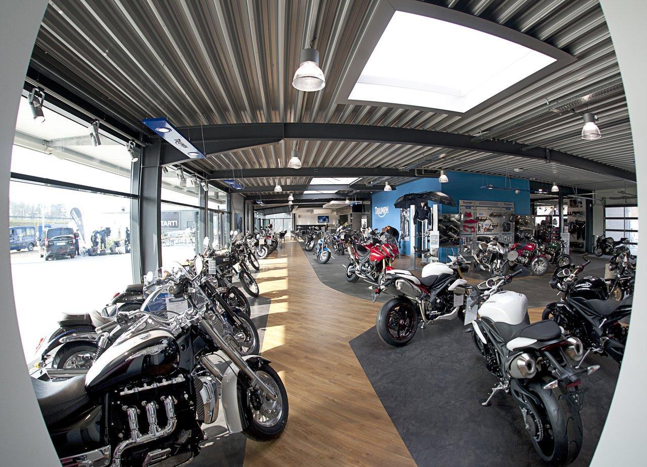 bilder aus der galerie triumph ems vechte biker cafe des. Black Bedroom Furniture Sets. Home Design Ideas