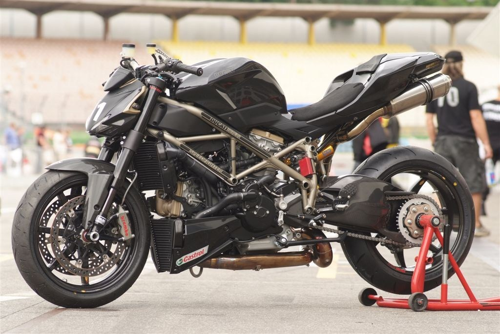 Ducati Streetfighter Zard Exhaust