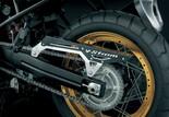 Suzuki V-Strom 1000 ABS 2017 Bild 13 Die goldenen Speichenfelgen der gelben XT-Variante sind eigentlich Pflicht und geben der V-Strom einen klassischen Touch.