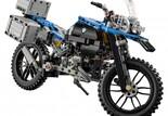 LEGO Technic BMW R 1200 GS Bild 2 Der Bausatz besteht aus 603 Teilen und entstand in enger Zusammenarbeit des LEGO Design Teams und BMW Motorrad Design.