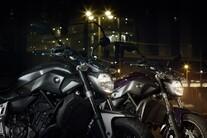 Yamaha MT-07 neu 2014 - Action