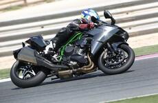 Kawasaki Ninja H2 Und R Test In Katar