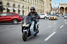 Neuer BMW C evolution 2017
