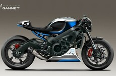 Suzuki GSX-S750 Cafe Racer