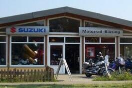 Motorrad Bläsing