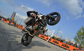 Stuntshow Rok Bagoros - Maximarkt Wels Bild 9