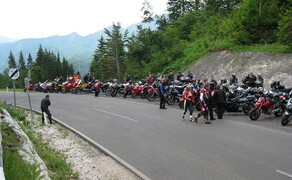 Motorradausfahrt 2008 Bild 1
