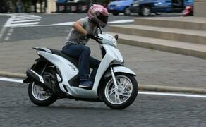Honda SH125i Action Bild 17
