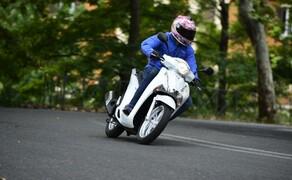 Honda SH125i Action Bild 19
