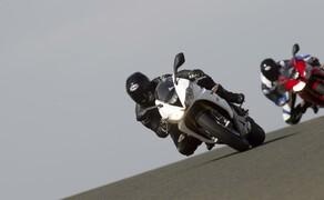 Triumph Daytona 675 und 675R Actionfotos Bild 10