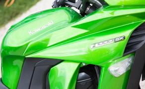 Kawasaki Z1000SX Test | Stunts, Action, Fahraufnahmen Bild 15