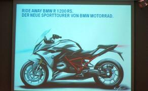 BMW R 1200 RS Vorstellung München Bild 12