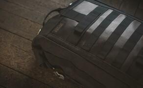 Trägersystem von SW-MOTECH für Legend Gear Seitentaschen im Retro-Design Bild 6 Hecktasche LR1 mit Rucksackfunktion: Die praktische Kombination aus Hecktasche und vollwertigem Rucksack (17,5 l Volumen) bietet sich als vielseitiger Begleiter für jede Tour an - ganz gleich, ob auf dem Motorrad oder zu Fuß.