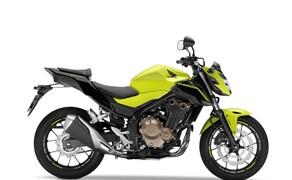 10 Motorräder mit niedriger Sitzhöhe 2016 Bild 3 Platz 8: Honda CB500F, 790 mm Zusammen mit der Schwester CBR500RR ein ausgezeichneter Einstieg.