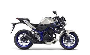10 Motorräder mit niedriger Sitzhöhe 2016 Bild 7 Natürlich gibt es mit 780 Millimeter Sitzhöhe noch weitere Modelle, Yamaha etwa hat in gleich zwei sehr beliebtten Kategorien ein Geschwisterpaar am Start: Die MT-03 ist die niedrigste im hart umkämpften Segment der 300 bis 400 Kubik-Naked Bikes.