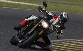 Yamaha MT-09 Rennstrecke 2016 - Action, Stunt, Detail Bild 1