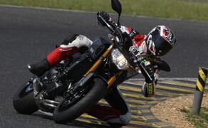 Yamaha MT-09 Rennstrecke 2016 - Action, Stunt, Detail Bild 3