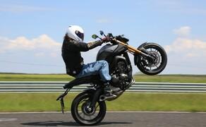 Yamaha MT-09 Rennstrecke 2016 - Action, Stunt, Detail Bild 8
