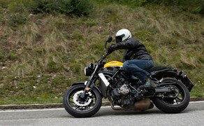 Yamaha XSR 700 Bild 7 Somit Reiht Sie Sich In Die Klasse