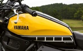 Yamaha XSR 700 Bild 19 Erkennbar Wird Dies Durch Die Gelbe Lackierung