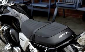 Honda CB1100RS 2017 Bild 8 Optischer Auftritt und konstruktive Handschrift präsentieren sich ebenso stimmig wie anziehend.