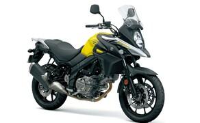 Suzuki V-Strom 650 ABS 2017 Bild 3 Mehr als 60 Teile wurden am Motor überarbeitet, darunter neue Kolben, neue Zylinderköpfe, die Auslass-Nockenwelle der SV 650, Doppelzündung, das Auspuffsystem, die Einspritzung, der Starter uvm.